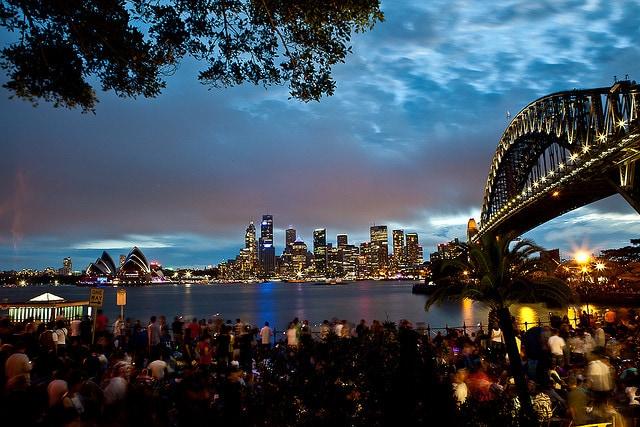 Capodanno Sydney Harbour