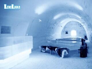 L'hotel di neve che scalda le coppie: il Lumilinna in Finlandia