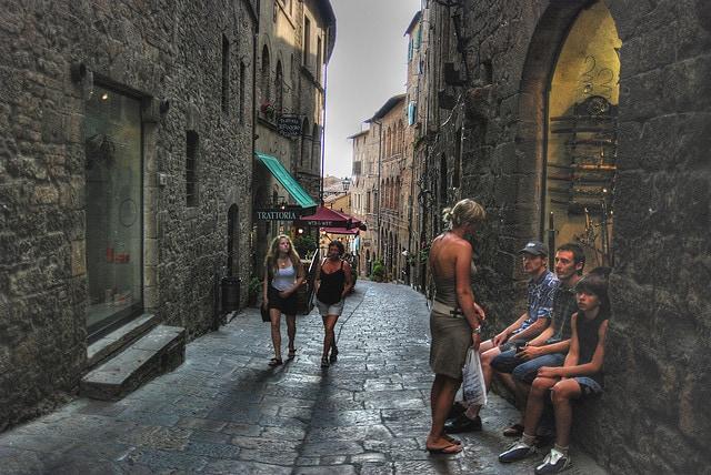 Centro medievale di Volterra