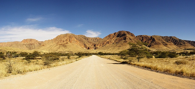 Naukluft Park in Namibia