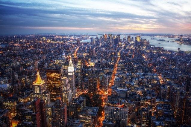 New York la sera