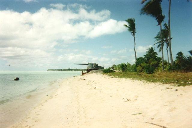 Spiaggia di Betio, Kiribati