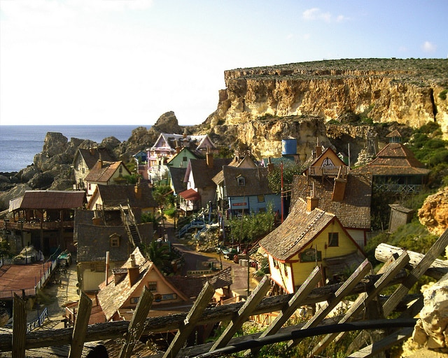 Villaggio di Braccio di Ferro a Malta