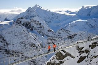 Ponte da record in Svizzera: inaugurato il passaggio più alto d'Europa
