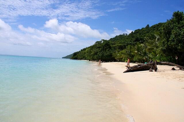 spiaggia bianca maya bay