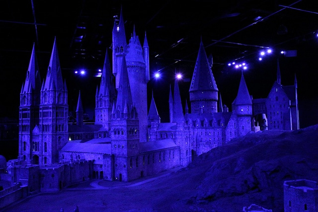 The Making of Harry Potter Castello di Hogwarts