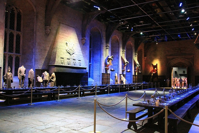 The Making of Harry Potter Sala Grande