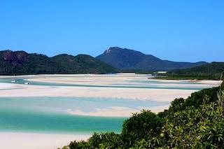 Whitehaven in Australia: la spiaggia che si stende come una coda di ovatta