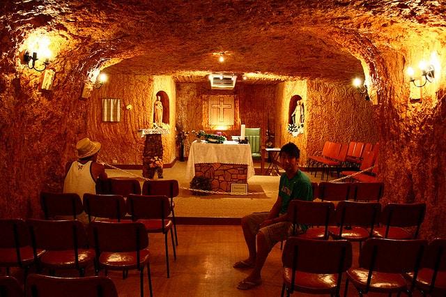 Chiesa sotterranea di Coober Pedy