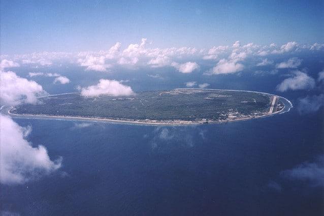 Nauru, oceano Pacifico