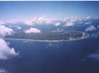 L'isola di Nauru, lo stato più piccolo del mondo nell'oceano Pacifico