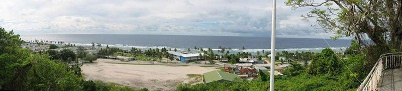 Nauru, costa nord