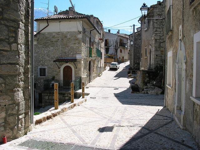 Roccacaramanico, le strade