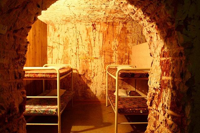 Underground Hotel di Coober Pedy