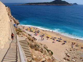Kaputas Beach in Turchia: una baia da sogno