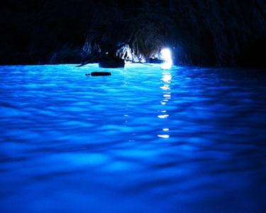 La Grotta azzurra nell'Isola di Capri