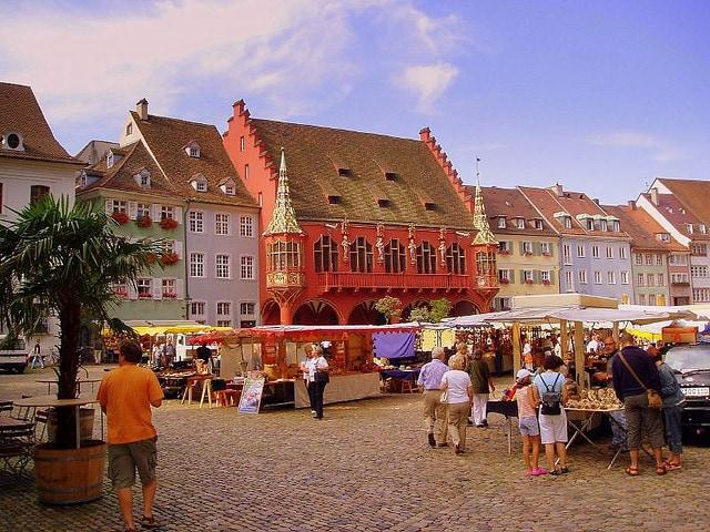 Mercato a Friburgo