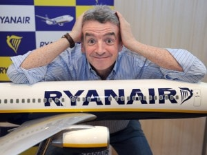 L'eccentrico Michael O'Leary, CEO di Ryanair