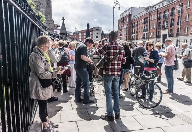 Walking tour Dublino