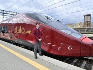 Viaggio inaugurale Roma-Napoli del nuovo treno 'Italo'