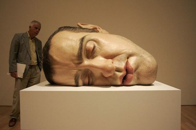 Lifelike Human Sculptures Exhibition Opens In Melbourne