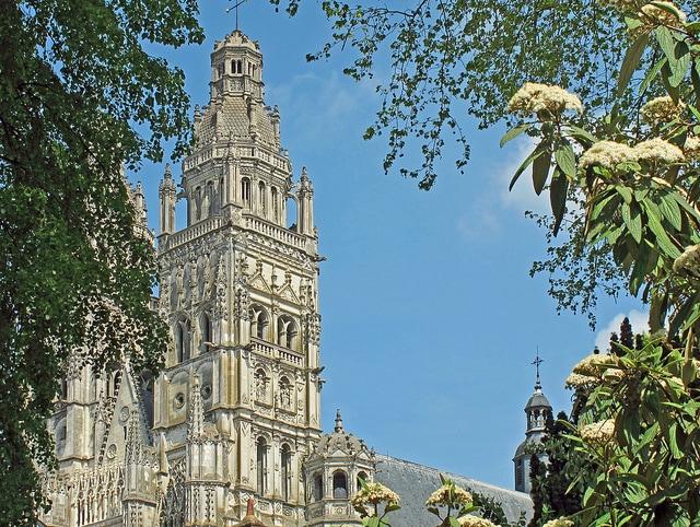 Cathédrale Saint–Gatien de Tours. Foto di Daniel Jolivet