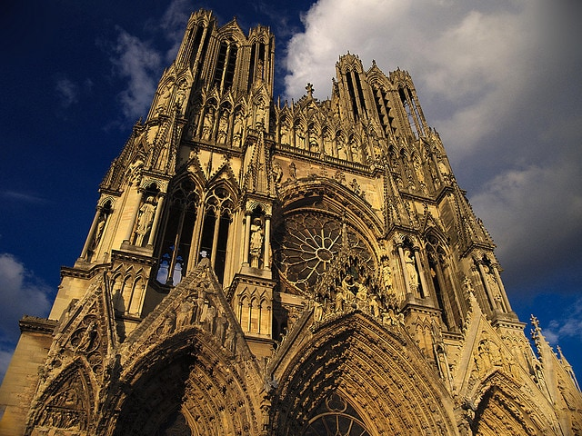 Cattedrale di Reims. Foto di Chi King