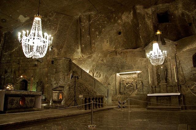 Miniera di sale di Wieliczka, cattedrale
