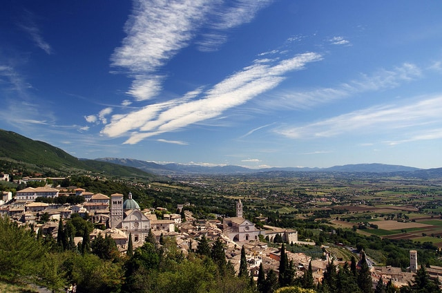 Panorama di Assisi. Foto di Pank Seelen