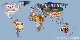 Il giro del mondo in 80 birre (MAPPA)