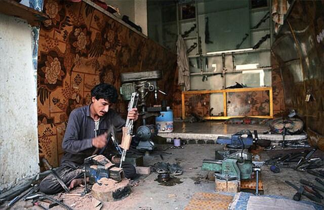 Armaiolo in Darra Adam Khel, Pakistan