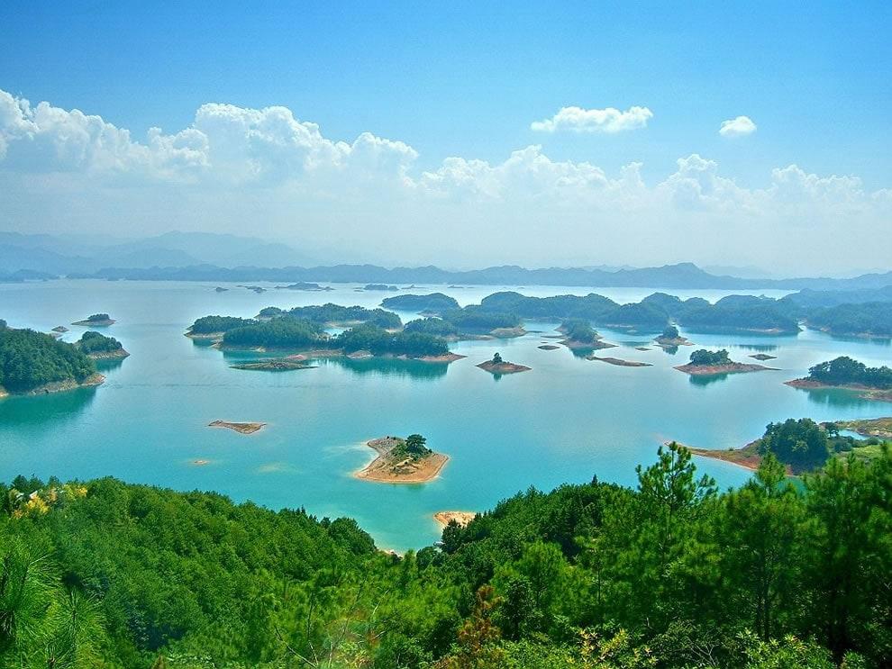 Lago Qiandao, provincia di Zhejiang