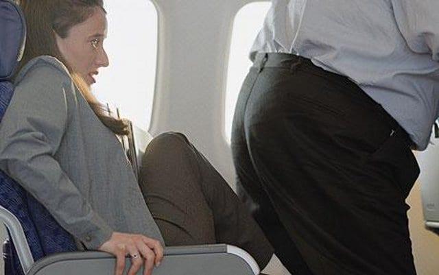 Sedile di mezzo in aereo