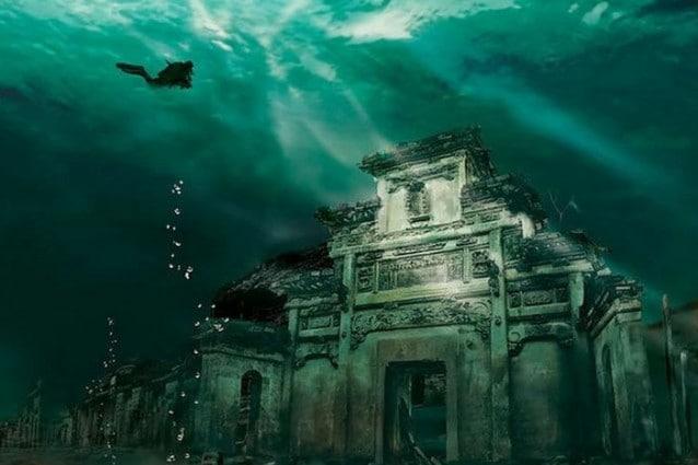Shi Cheng, città sommersa in Cina