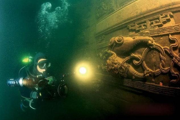 Shi Cheng, Scuba diving