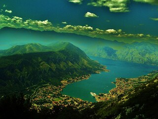 Kotor, il fiordo più grande del Sud Europa si trova in Montenegro