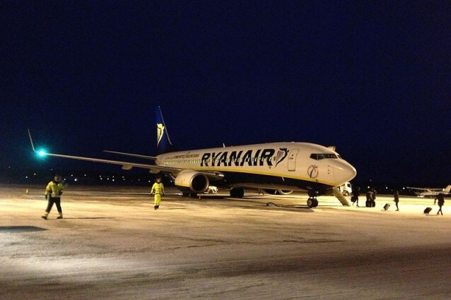 Voli notturni Ryanair