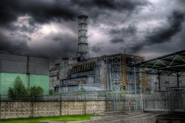 La centrale di Pripyat in HDR (Foto da Wikipedia).