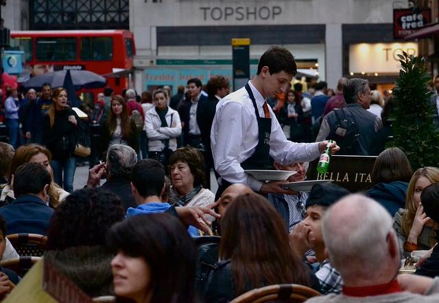 Cameriere a Londra