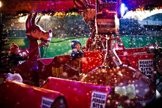 Passare il Natale a Londra è perfetto se si va in vacanza con i bambini. Foto di Garry Knight