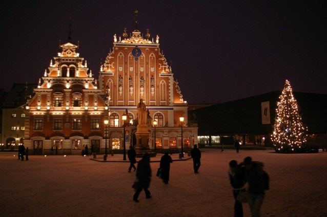 Repubbliche Baltiche a Natale e Capodanno