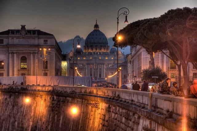 Basilica di San Pietro. Foto di Mikko Nyman