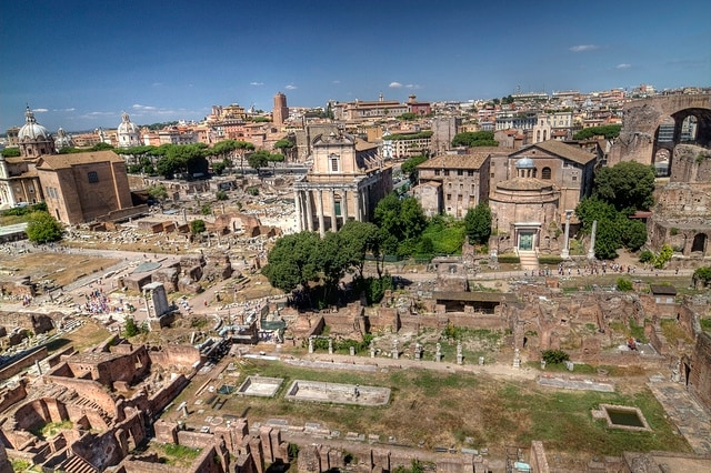 I fori di Roma. Foto di fortherock