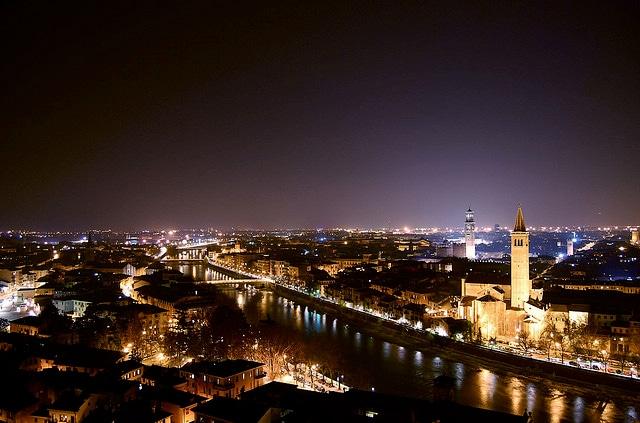 Verona da Castel San Pietro. Foto di Ilares Riolfi