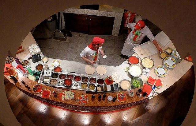 Pizzeria Rossopomodoro a Londra