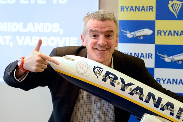 Michael O'Leary, ceo di Ryanair.