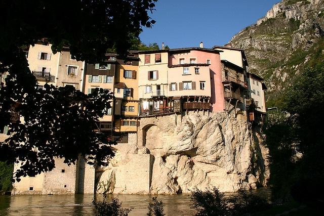Case sospese di Pont-en-Royans
