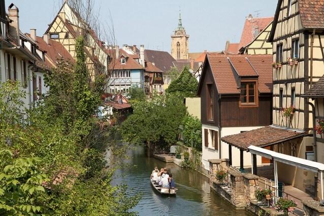 Colmar, gita in barca sul canale