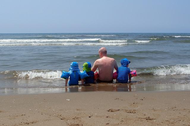 Al mare con i bambini in Toscana