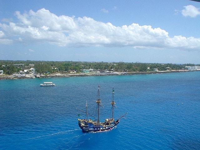 Nave pirata a Grand Cayman